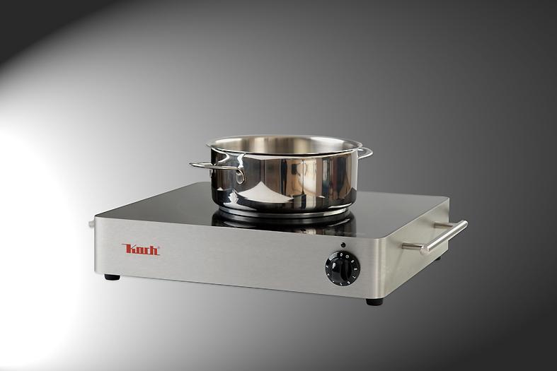 Sicheres Kochen mit Induktionskochfeldern bei KOCH Kochergeräten