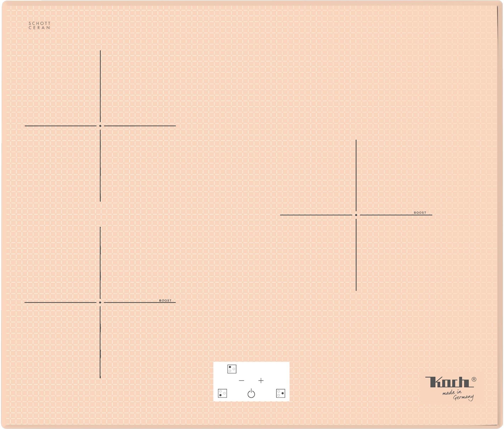 INDUKTIONSKOCHFELD | GK3P CLEAR-TRANS | 3 PLATTEN