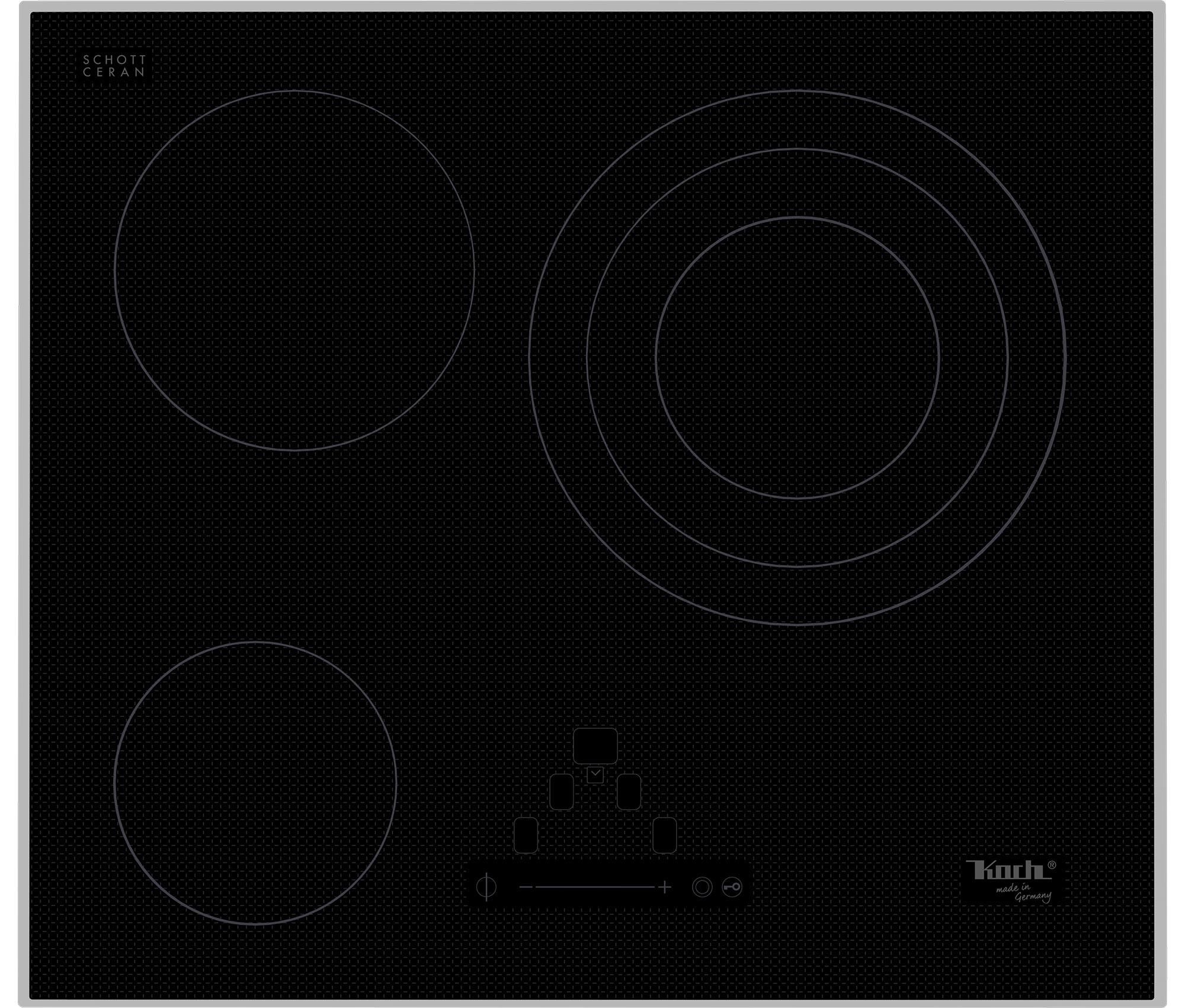 Elektrokochfeld | GK3 High-Trans | 3 Platten