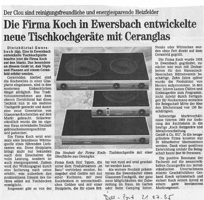 1994 - Start Ceran-Felder