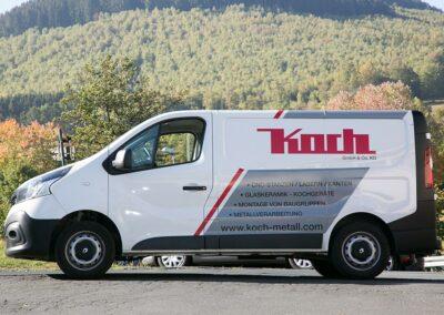 Logistik - Metallverarbeitung von Koch GmbH & Co. KG