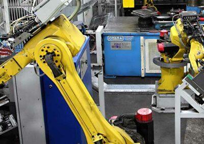 CNC-Roboterstraße - Metallverarbeitung von Koch GmbH & Co. KG
